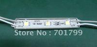 3pcs 5050 SMD LED module,with metal case,WHITE color,DC12V,20pcs a string;75mm*12mm