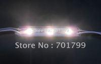 3pcs 5050 SMD LED module,with metal case,WARM WHITE color,DC12V,20pcs a string;75mm*12mm