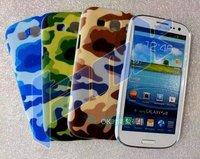 Чехол для для мобильных телефонов EMS DHL+100PCS. Hight quality Genuine Luxury Sheep Leather Chrome Case for Samsung Galaxy S3 i9300