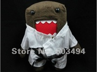 "Japanese Anime Domo Kun 11"" Soft Plush Doll Stuffed Toy Free shipping EMS"