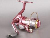 Free shipping, VIVA AK2000 Spinning Fishing Reel 4BB, Pink color