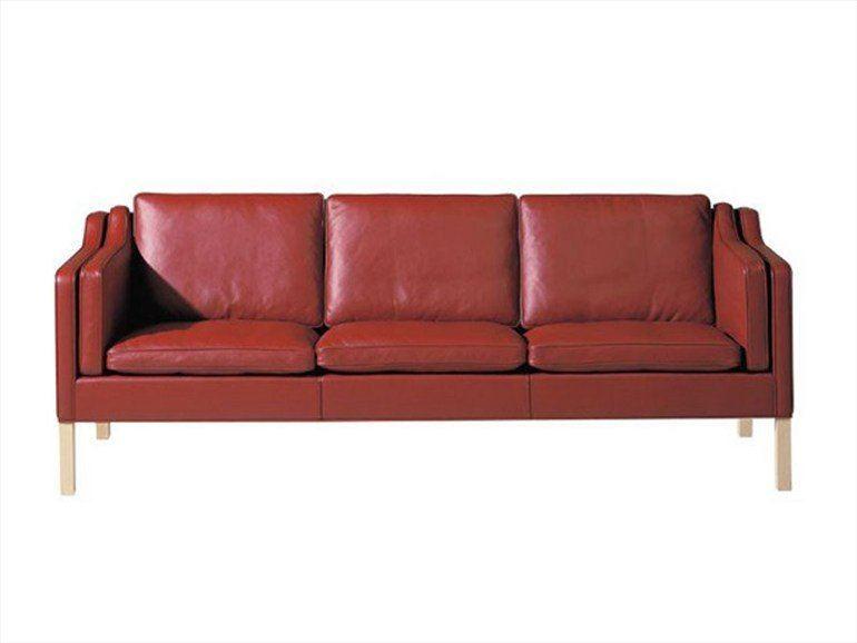 moderne designer ledersofas full braun anilinleder borge. Black Bedroom Furniture Sets. Home Design Ideas