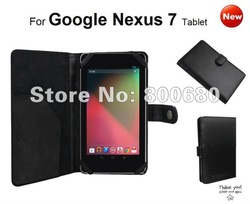 New Arrival,elastic band design ,Case cover pouch for Google Nexus 7,factory supply,50pcs/lot, DHL free shipping .(China (Mainland))