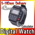 Calculator Watch Multi Functional TV DVD VCR Sets Remote Control Digital