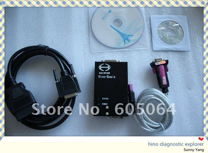 Hot ! Hino-Bowie Hino Diagnostic Explorer free shipping by DHL the more the better best items from best store hino explorer(Hong Kong)