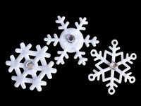 Free Shipping - Hotselling Polyester Felt Snowflake Embellishments - Perfect Window & Scrapbooking Decoration - Customizable