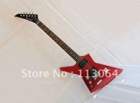 Free shipping,Left Handed and High Quality Electric Guitar Red Color ,Professional Level, DF01-L#