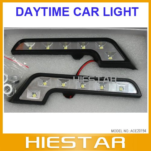 Car interior light charge 6 led 12v daytime runing lights l free