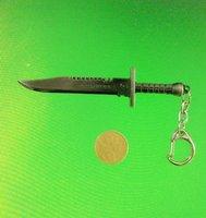 J73 free shipping10 pcs/lot CF model keychains Simulation of knife keychains fashion keychain CS counter strike mens'  keychains