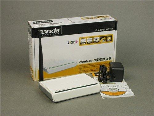 Tenda W311R 150M 11N Wireless Router IP speed limit(China (Mainland))