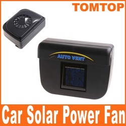 Solar Power Car Auto Cool Air Vent With Rubber Stripping Car Ventilation Fan K589 Free Shipping Wholesale(China (Mainland))