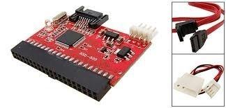 F02656 2 in 1 SATA to IDE Converter / IDE to SATA Combo Converter + FS