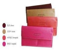 Fashion women purse long wallet bags lady  PU leather quality handbag soft leather Ack Free shipping