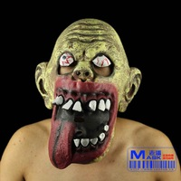 FREE SHIPPING!!!Bar and party props, Halloween supplies, terror a mask, environmental protection latex