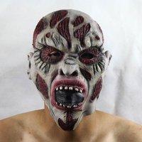 "FREE SHIPPING!!!Halloween masks, terror a mask, bar party props, environmental protection latex ""terrorist decay faces mask"""