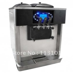 Desktop Yogurt Ice Cream Machine / Frozen yogurt ice cream Maker/ Frozen yogurt making machine 35-40L/H big production(China (Mainland))