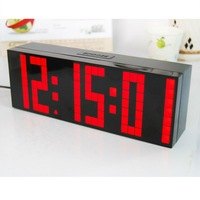 Free Shipping !Big Digital Weather Station Table Clock Hot Sale in 2012.