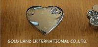 L36xW35xH20mm Free shipping zinc alloy and K9 crystal glass drawer knob
