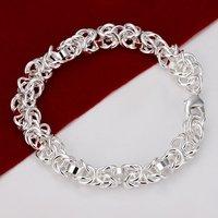 H073 Wholesale 925 Silver Bracelets wholesale designer new 2014 innovative items fashion Jewelry prata pulseras