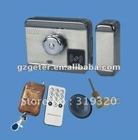 Intelligent electromotor Lock for door-closing system
