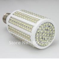 high power/free shipping/5pcs/lot dip 263 pcs leds cool white e27 16w 360 degree epistar chip good quality led corn light