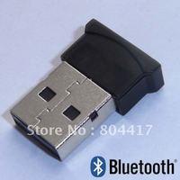 Free Shipping New 100% Fashion 10Pcs/lot  Tiny USB 2.0 Bluetooth V2.0 EDR Dongle Wireless Adapter+Wholesale And Retail