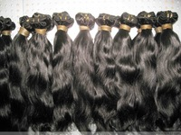 14''-28'  'no shedding no tangle100% virgin indian remy human hair weft free shipping in stock