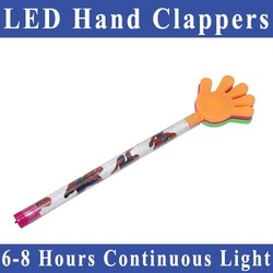 Free Shipping LED hand clappers/colorful plastic hand clapper(China (Mainland))