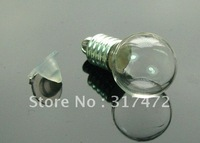 round globe  vial pendants freeshipping( CAP NEED GLUE)