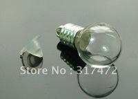 round globe  vial pendants freeshipping( CAP NEED GLUE)