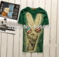 Men's T-shirt Korean printed short-sleeved round neck t-shirt, short sleeve shirt