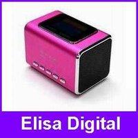 100% Original JH-MD05X  Speaker,digital speaker,Music Angel speaker,support USB/ TF memory card,USB with FM+LCD screen,RY9002