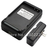 USB Wall Battery Charger with US Plug for HTC EVO 4G 8G E93 G6 G8, 200pcs/lot, DHL free shipping