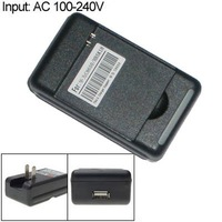 USB Wall Battery Charger with US Plug for Huawei Ascend ll 2 M865 Sonic U8650 C8650 HB5K1H, 50pcs/lot, DHL free shipping