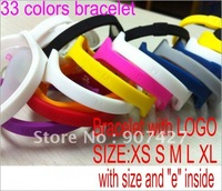Free shipping New  Ionic Magnetic  Hologram Bracelet Band Sports Ion 100pcs/lots opp package