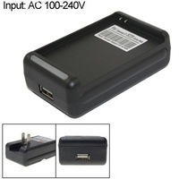 USB Wall Battery Charger with US Plug for Samsung i9220 Galaxy Note LTE 1717 N7000