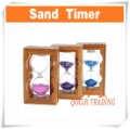 SAND TIMER HOURGLASS HOUR GLASS CLOCK (Color Assorted) D8126(China (Mainland))