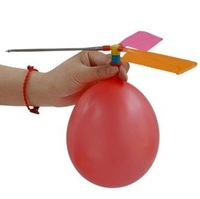 Retail Retail DIY Balloon Helicopter Children Toy Party Decor (SX-69)
