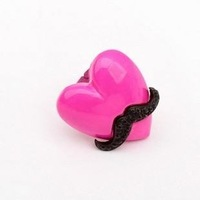 Pink love beard personality popular ring Free Shipping    New arrived