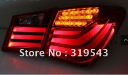 Free Shipping to Russian LED Car Tail Light Assembly Car Rear Light For Cruze with BM7 Style Auto Tail Lamp Rear Lamps(China (Mainland))