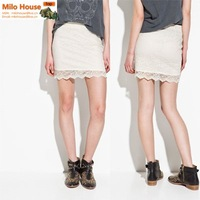 Женская юбка 2012 sexy superstar style front zipper slim short all-match high elastic short mini skirt