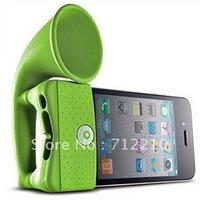 iPhone 4S horn loudspeakers creative speaker silicone Speaker Base Stand
