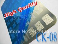 NEW!!! 42 Design XL Medium Size Konad Design Stamping Image Plate Print Nail Art Large BIG Template Seal DIY *CK-08*
