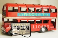 Freeshipping iron craft antique bubble car /Bus Model Household Handicraft Decoration & best Gift for boyfriends home decoration