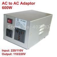 AC to AC adaptor Power converter 600W 220V/110V to 110V/220V 50/60Hz Converter transformer Adapter  For electronic equipments