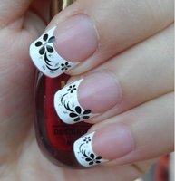 DIY fashionfor fake nail   beauty nail care 3D French design XF821