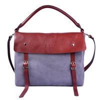Genuine cowhide leather unisex Briefcases Messenger Satchel Bags OUOVO HDY009
