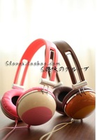 New products Rilakkuma design of the children's cartoon headphones computer phone headset off pink/coffee