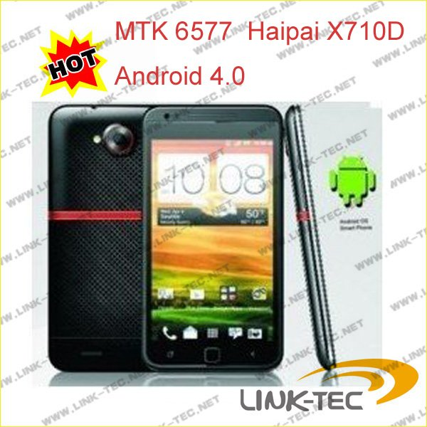 Free shipping MTK6577 phone star N9770 (u920+) android 4.0 4G ROM 512