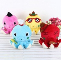 Wholesale plush octopus fish,100%cotton,soft,stuffed fish toy,lovely & cute doll,plush toys stuffed animals